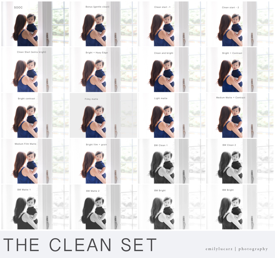Image of The Clean Set - PSE 6 and up