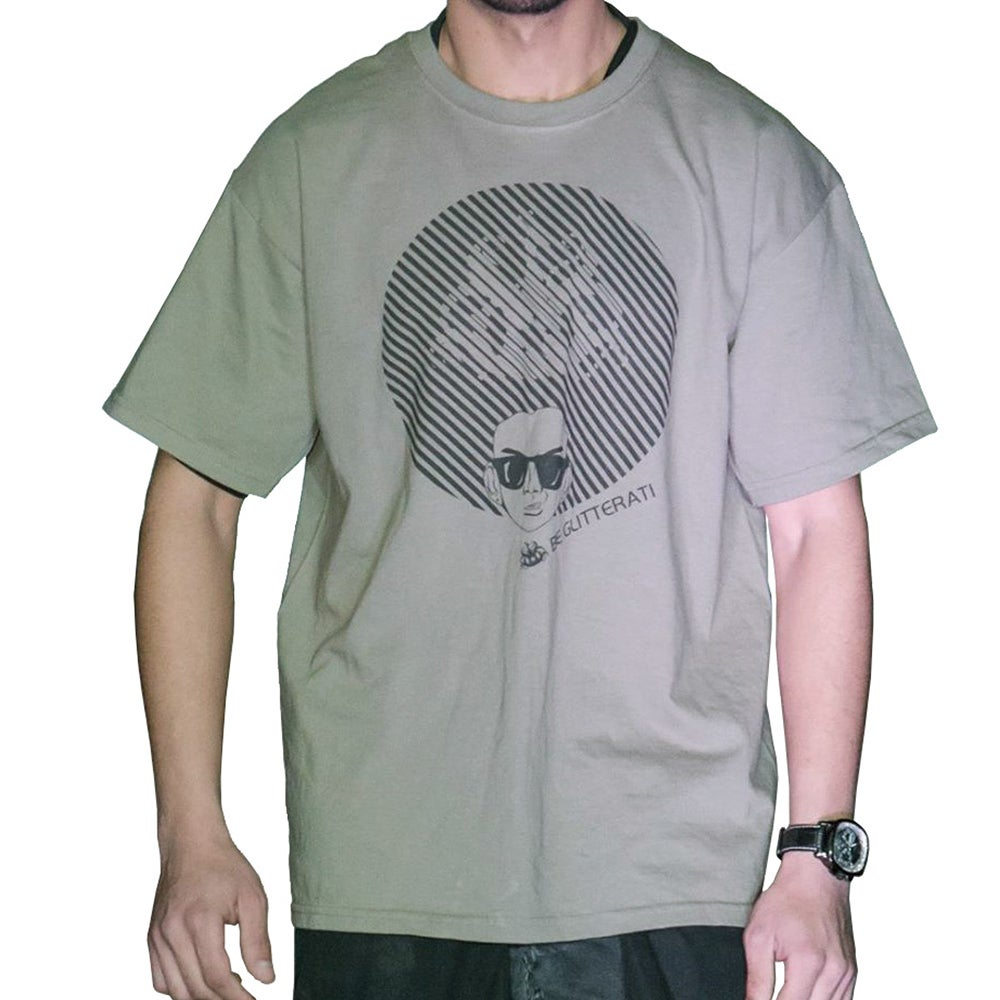 Image of Afro Tee - Army Green