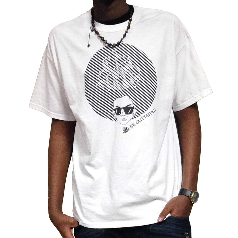 Image of Afro Tee - White