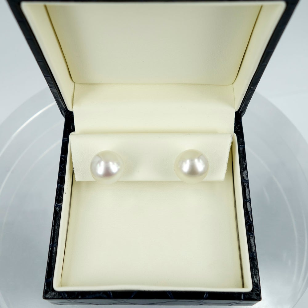 Image of Pair 12mm South Sea Pearl Studs