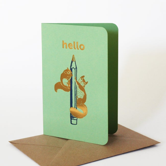Image of Carte Hello