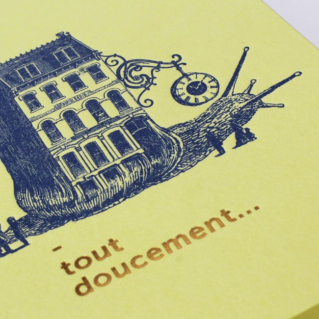 Image of Carte Tout Doucement