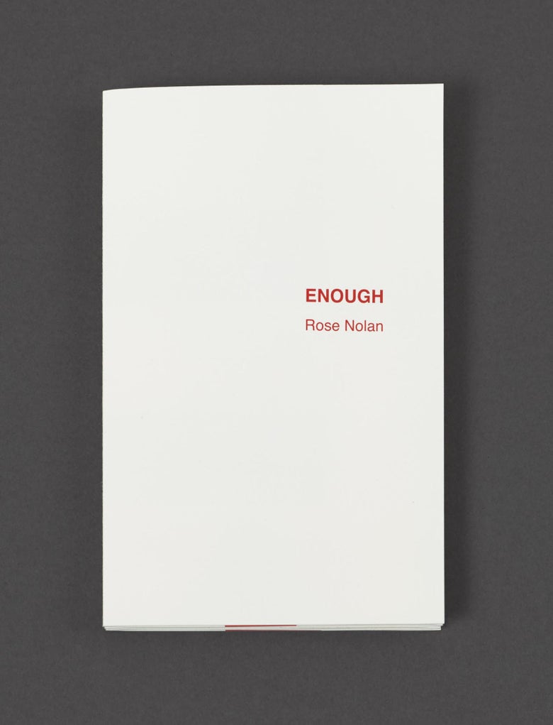 Image of <i>Enough</i> 2016