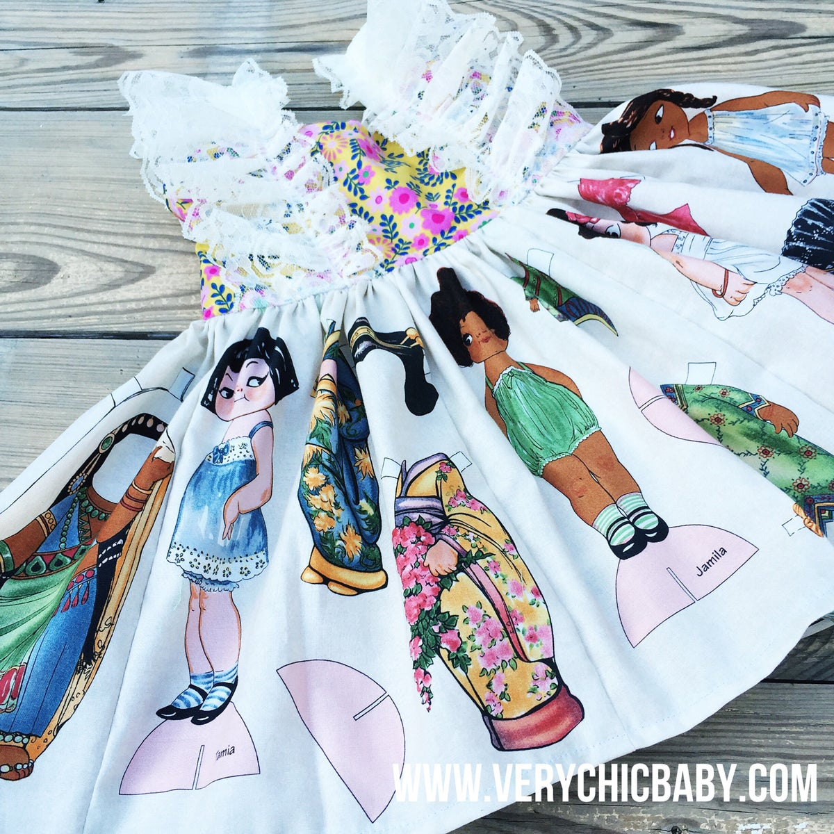 Image of Limited Edition All the Pretty Girls Tunic
