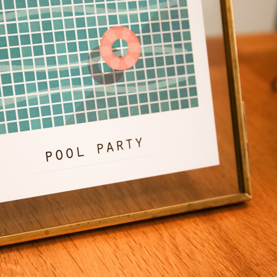 Image of POLACARDS - Duo Pool Party & Tropical