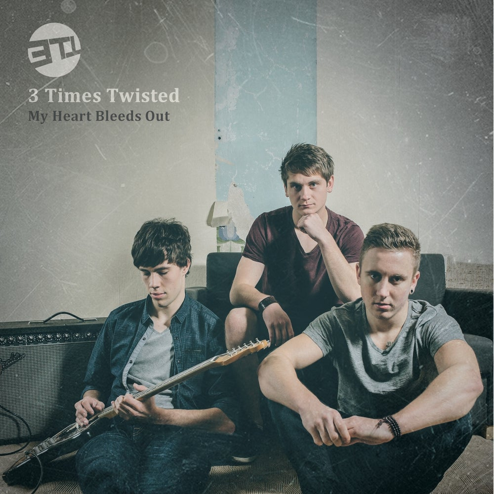 """Image of 3 Times Twisted LP 12"""" - My Heart Bleeds Out"""
