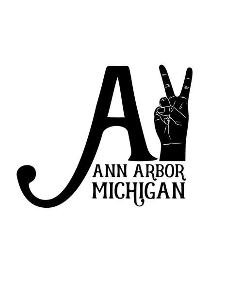 Image of A2 Ann Arbor Print