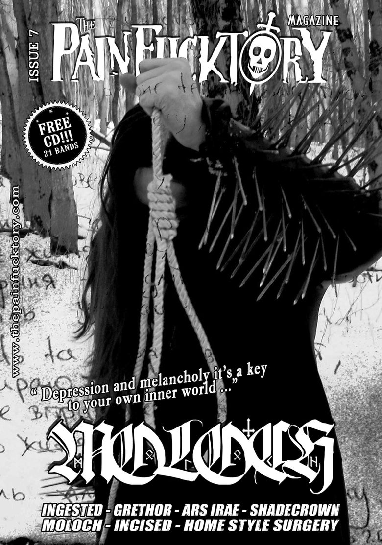 Image of THE PAIN FUCKTORY Magazine -  Issue N°7