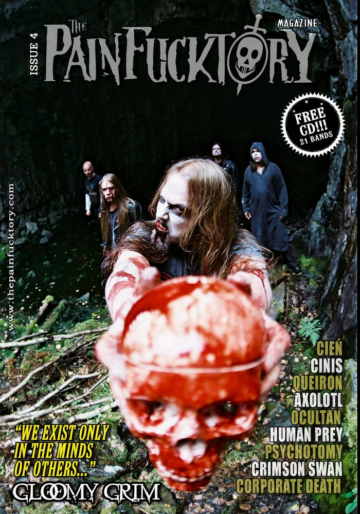 Image of THE PAIN FUCKTORY Magazine -  Issue N°4