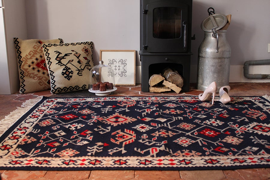 Image of Lozinki kilim rug