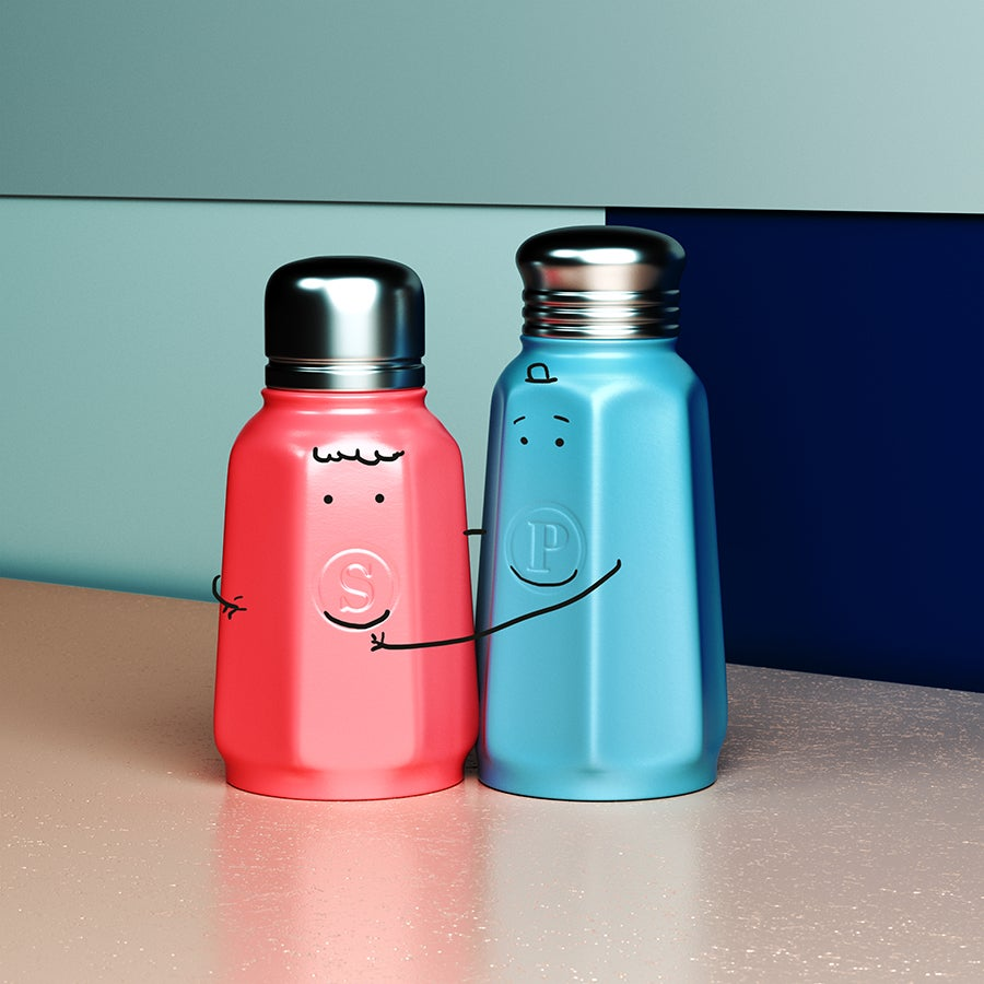 Image of PRINT - Salt & Pepper - Attracting Valentines