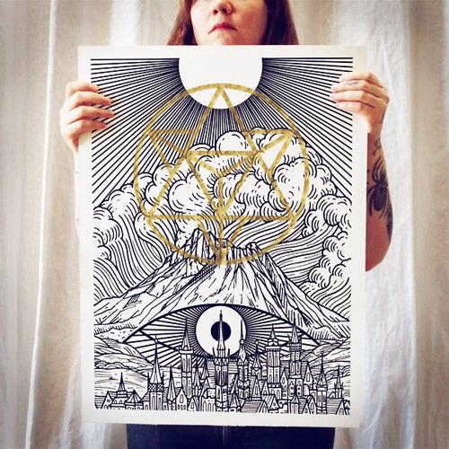 Image of Mount Shasta Print