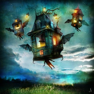 """Bats in the Belfry"" - Alexander Jansson Shop"