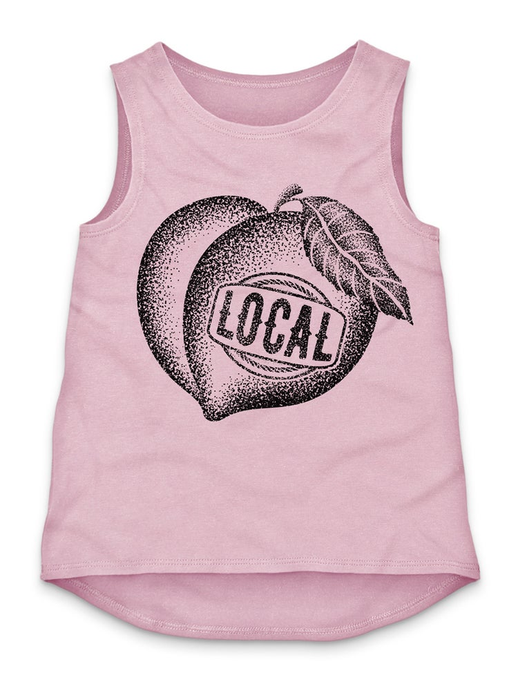 Image of LOCAL PEACH TANK TOP - PINK