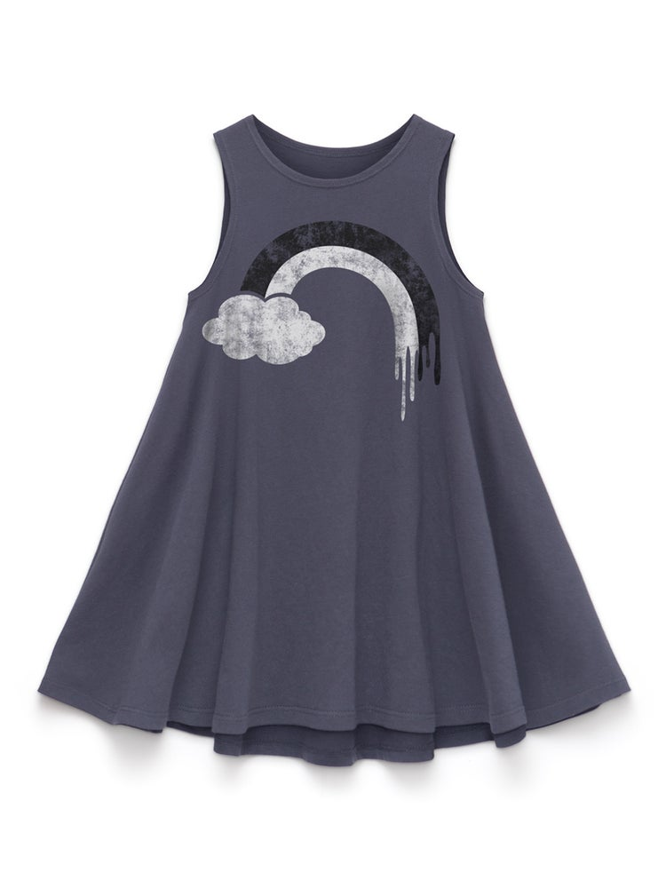 Image of RAINBOW TANK DRESS