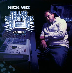 Image of Nick Wiz - Cellar Selections 6 2LP - Black Vinyl