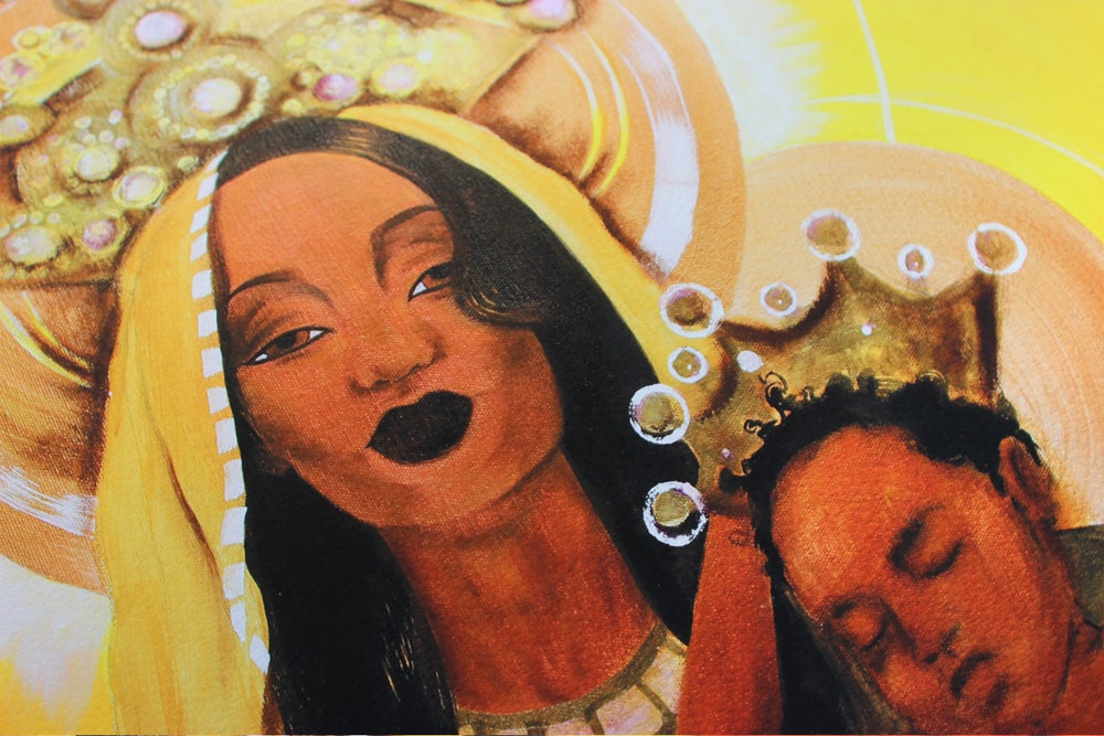 Image of Madonna and Child Giclee