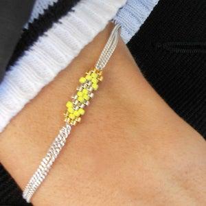 Image of Bracelet Flocon - 5 coloris