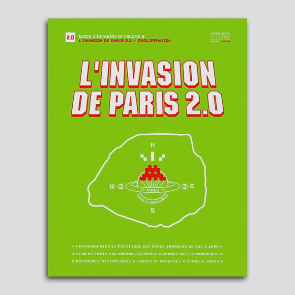 Image of Invader - L'Invasion de Paris 1.2 et 2.0 (coffret, 2012)