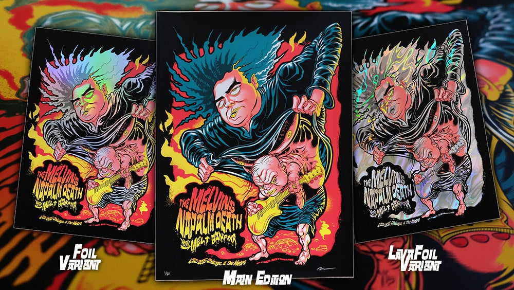Image of Melvins, Napalm Death, Melt-Banana Chicago 2016