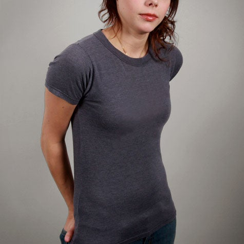Image of Dark Grey Womens T-shirt