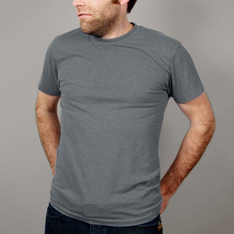 Image of Light Grey Mens T-shirt