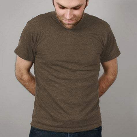 Image of Brown Mens T-shirt