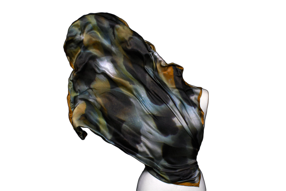 Image of Great Barrier Reef | Lion Fish Silk Scarf