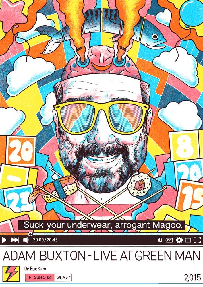 Image of Adam Buxton - Green Man Fest (Alternative Version)