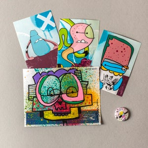Image of Sticker / Badge Pack 20