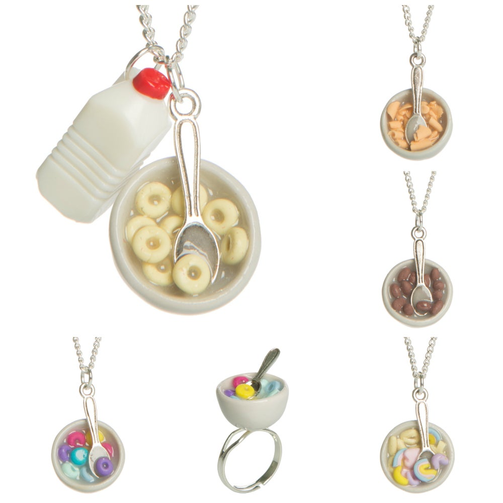Image of Cereal Bowl Necklace/Ring