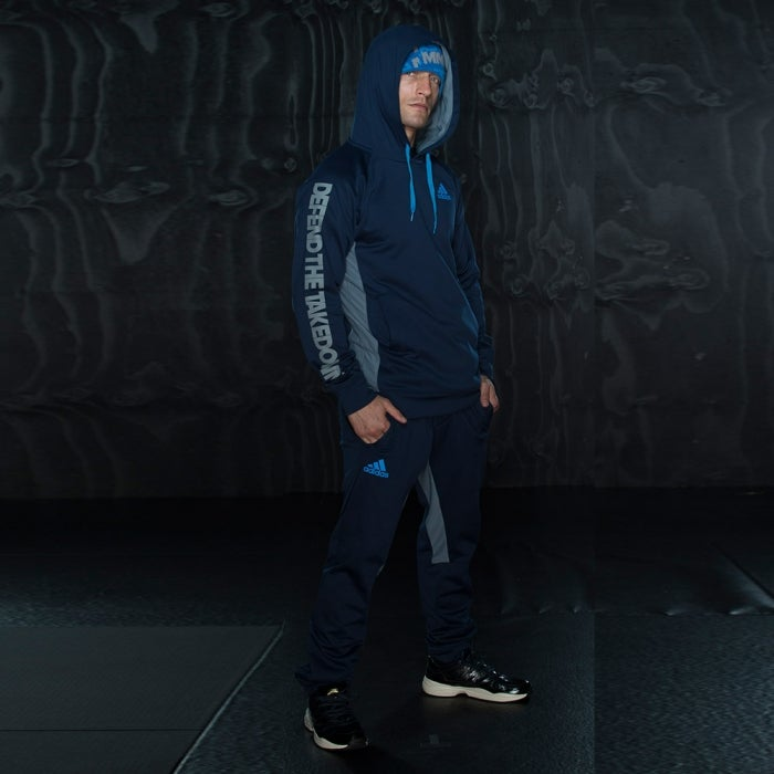 Image of Adidas Takedown Trackpants (Navy)