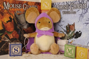 Image of Mouse Guard: Limited Edition Sadie plush w/BONUS Black Friday pin!