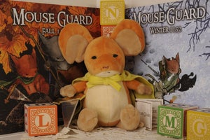 Image of Mouse Guard: Limited Edition Lieam plush