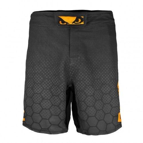Image of Bad Boy Legacy III Shorts (Black/Orange)