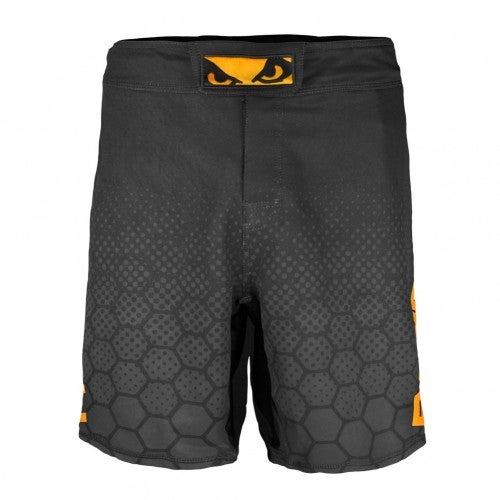 Image of Bad Boy Legacy III Shorts (Black/Orange)