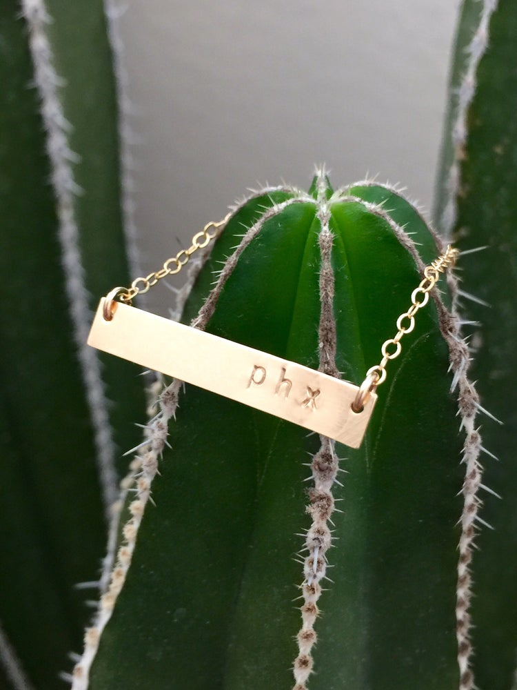 Image of Personalize Your Bar Necklace