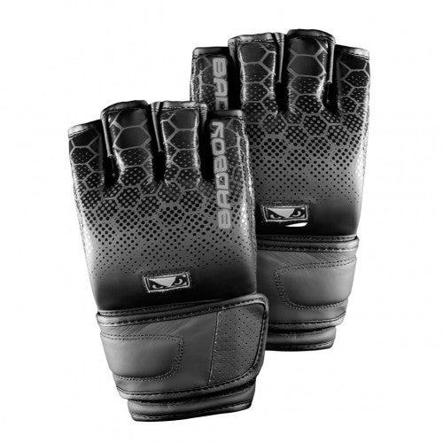Image of Bad Boy Legacy 2.0 Hybrid MMA Gloves (Black)
