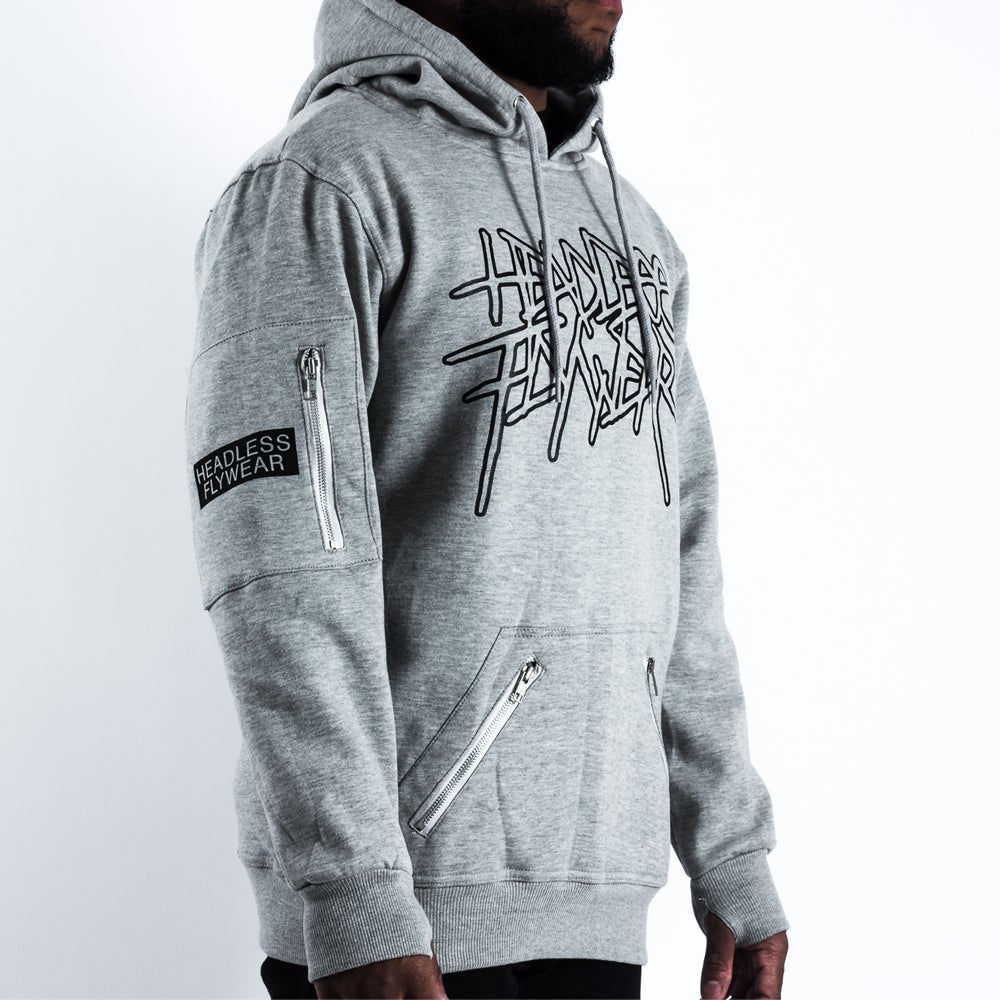 Image of Metal 01 Pullover Grey