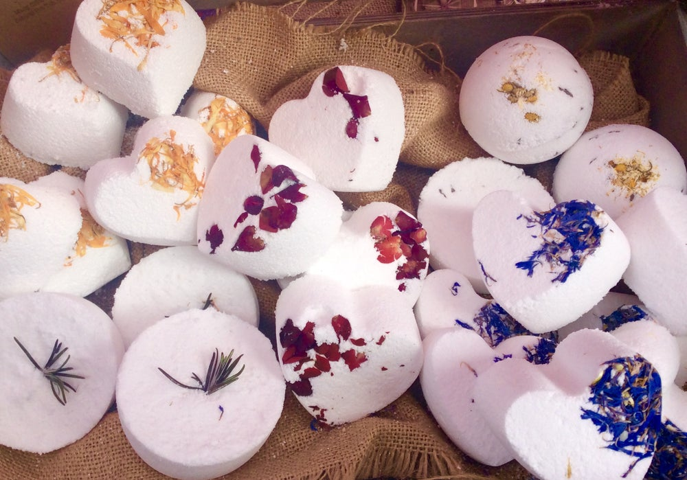 Image of Peace and Love Bombs - Bath Bomb