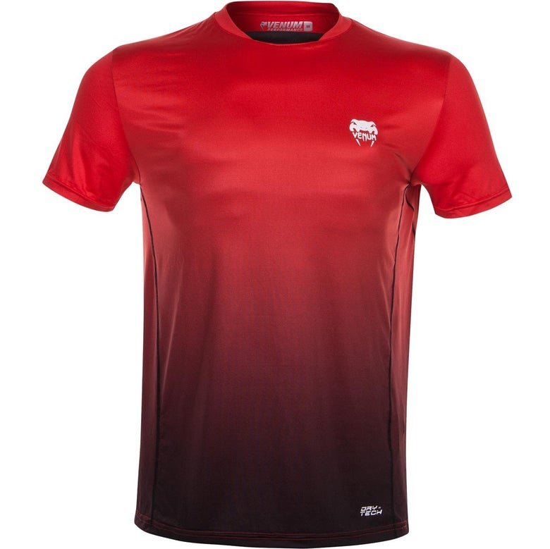 Image of Venum Contender Dry Tech T-Shirt (Red)