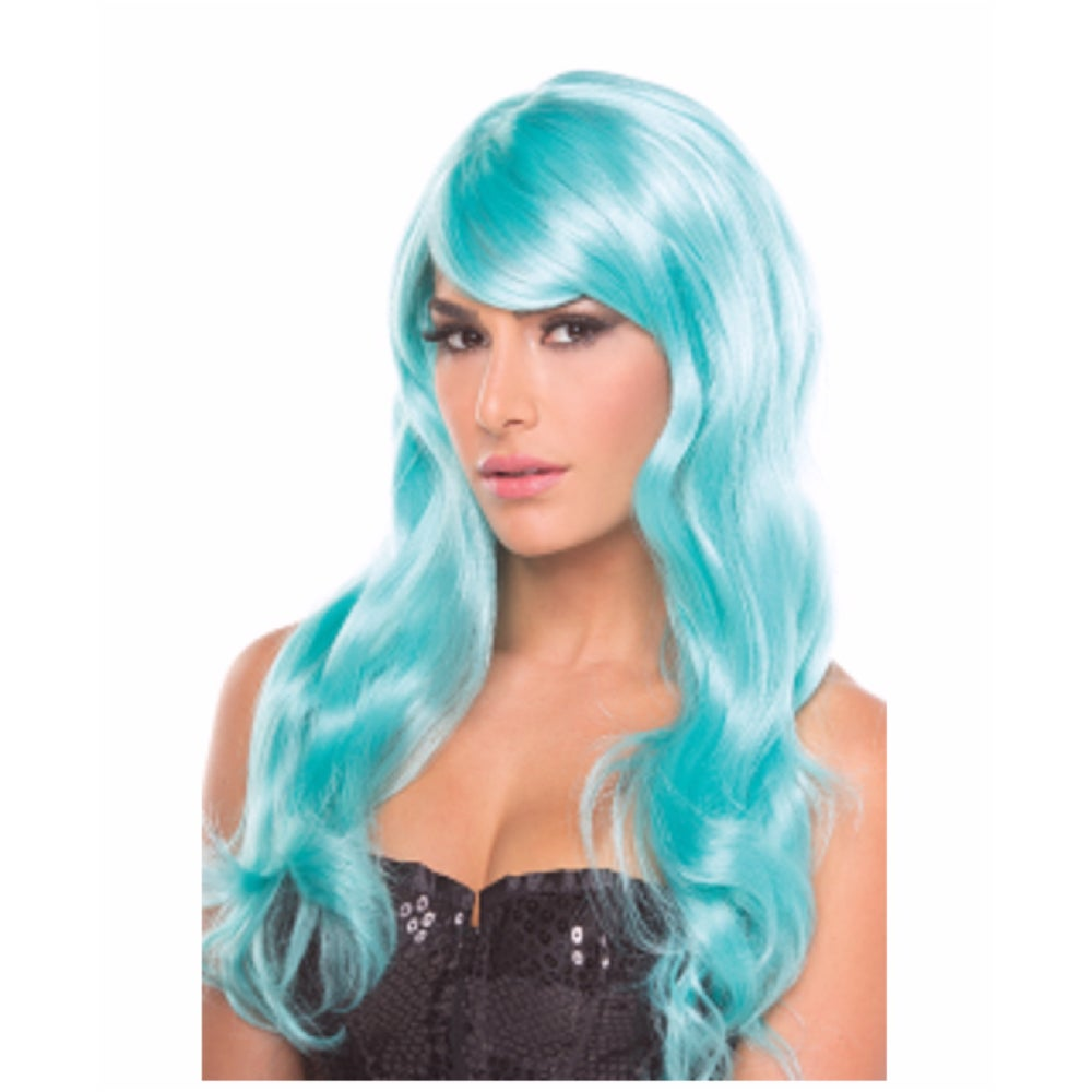 Image of Blue Exotic Wig