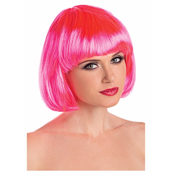 Image of Hot Pink Exotic Wig