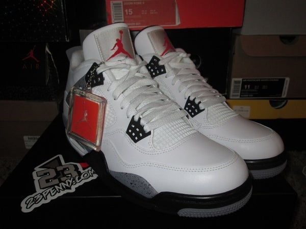 "Air Jordan IV (4) Retro ""White Cement"" 2012 #2 - SIZE13ONLY by 23PENNY"