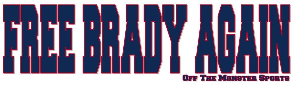 Image of Free Brady Again - Bumper Sticker