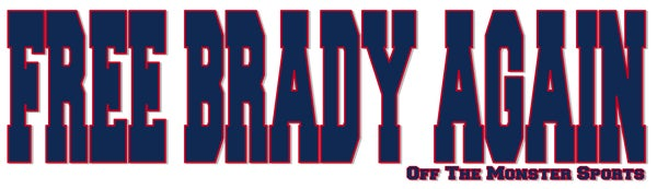 Image of Free Brady Again - Bumper Sticker
