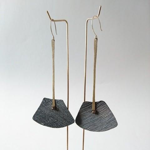 Image of BALANS' Earrings .°. Deep Black