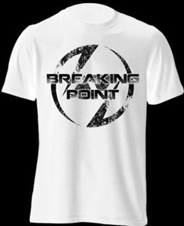 Image of Breaking Point White T-Shirt (Limited Edition)