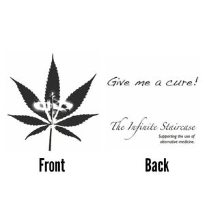 "Image of TIS Potleaf ""Give Me A Cure""  T-Shirt *"