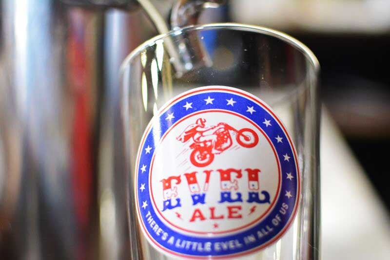 Image of Pint Glass - Classic & Evel Editions